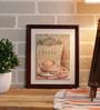 Importwala Multicolour Ceramic Cafe Tile Wall Frame