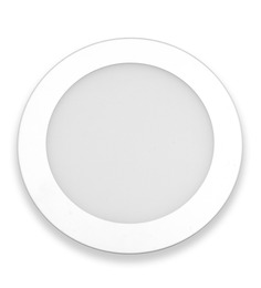 Inddus Round Neutral White 3W LED Flat Panel Light