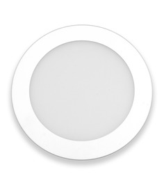 Inddus Round Neutral White 6W LED Flat Panel Light