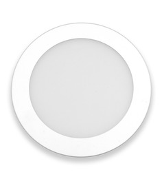 Inddus Round White 3W LED Flat Panel Light