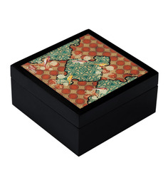 India Circus Avian Illusions MDF Multicolour Medium Storage Box