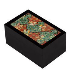 India Circus Avian Illusions MDF Multicolour Small Storage Box