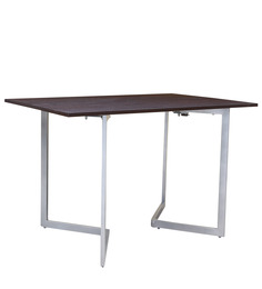 Inka Convertible Console Table in Brown Colour by Gravity