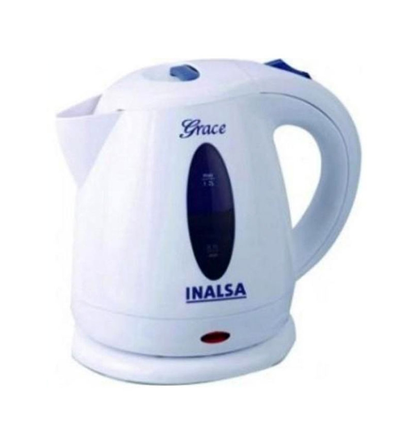 Inalsa Grace 1.2L Electric Kettles (White)