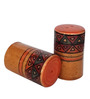 Indeasia Srijan Orange Salt and Pepper Set