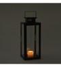 Indecrafts Black Iron Candle Lantern