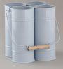 Indecrafts Blue Color Iron Bottle Rack