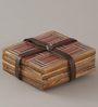 Indecrafts Handmade Coaster - Set of 4