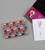 India Circus Funk on Road Faux Leather Multicolour Visiting Card Holder