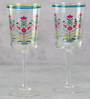 India Circus Garden of Eva 200 ML Wine Glasses - Set of 2