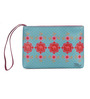 India Circus Steps of Imani Faux Leather Utility Pouch