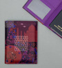 India Circus Violet Fusion Faux Leather Passport Cover
