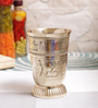 Indian Art Villa Brass 250 ML Glass