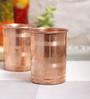 Indian Art Villa Handmade Copper 200 ML Glasses - Set of 6