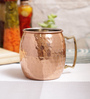Indian Art Villa Handmade Copper 530 ML Mug