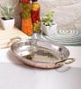 Indian Art Villa Steel & Copper Platter