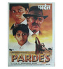 Indian Hippy Paper 30 x 40 Inch Pardes Vintage Unframed Bollywood Poster