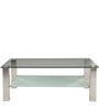 Iris Coffee Table in Silver Colour by Royal Oak