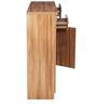 Iris Three Door Shoe Rack in Maple Finish by Royal Oak