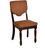 Isabella Dining Chair in Walnut Finish by @ Home