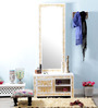 Rebecca Dressing Table in White Colour by Amberville