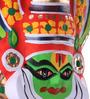 Itiha Multicolour Papier Mache Kathakali Face Mask Wall Hanging