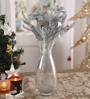 Marquess Decorative Flowers in Silver by Amberville
