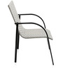 Ivy Outdoor Chair in White Colour by @ Home