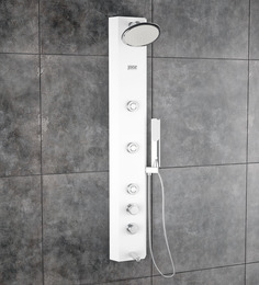 Jaaz OTIS White Shower Panel 47.24 x 8.26 Inch