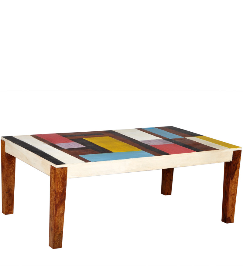 Item overview Honey oak coffee table