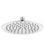 JAAZ Silver Stainless Steel 8 x 8 Inch Head Shower