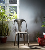 Bowen Metal Chair in Steel Grey Color by Bohemiana
