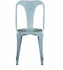 Bowen Metal Chair in Powder Blue Color by Bohemiana