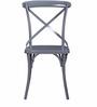 Alva Metal Chair in Grey Color by Bohemiana