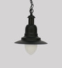 Jainsons Emporio Black Industrial Pendant Light