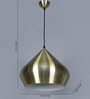 Jainsons Emporio Sylvia Stout Antique Brass Metal Pendant Lamp
