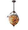 Jainsons Emporio Tiffany Dragonfly Inverted Pendant Light