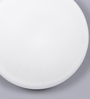 Jainsons Emporio White Glass Flush Mounted Light