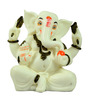JaipurCrafts Multicolour Polyresin Adorable Lord Ganesha Statue