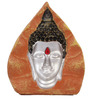 JaipurCrafts Multicolour Stoneware Lord Gautama Buddha Inside Coconut Showpiece