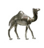 JaipurCrafts Silver Aluminium Carved Hand Crafted Camel Showpiece