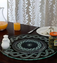 JbS Glass 18 Inch Lazy Susan