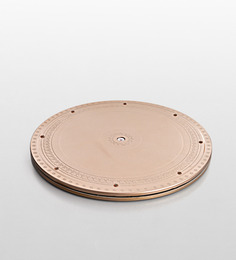 JbS Wonder Disc Golden ABS Plastic Plate