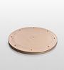 Jb'S Wonder Disc Golden ABS Plastic Plate