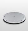 Jb'S Wonder Disc Silver ABS Plastic Plate