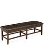 Jenn Dining Bench in Brown Colour by @Home