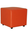 Jenna Pouffe in Rust Colour by Furnitech