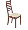 Jessica Dining Chair (Set of 2) in Indian Mahogany Finish by Godrej Interio
