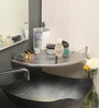 Florence Bathroom Shelf in Silver by CasaCraft