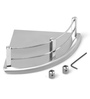 SNB Silver Steel Bathroom Shelf